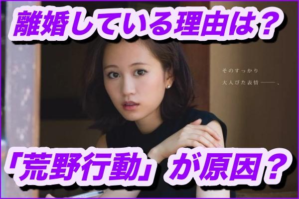前田敦子、勝地涼と離婚してる理由とは?ゲーム「荒野行動」が原因?